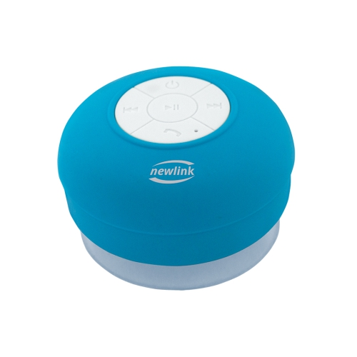 Caixa De Som Speaker Bubble Azul Sp109 Newlink