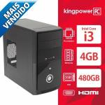 Computador Desktop Kingpower Pc Intel Core I3 / 4gb / Ssd 480gb / Hdmi Fullhd