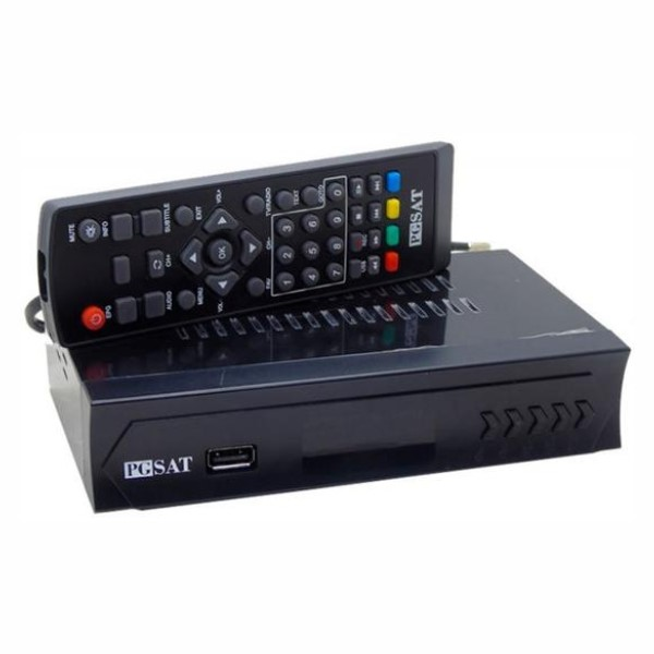 Conversor Digital Pgsat - Full Hd - Isdbt - Preto