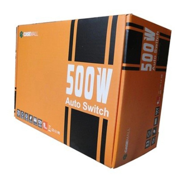 Fonte 500w Atx12v V2.3 Auto Switch All-500ttpsw4 Casemall