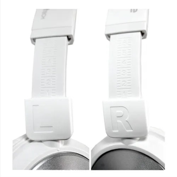 Headphone Dj P2 Evertech Branco/rosa Evhp-10-wp Flex