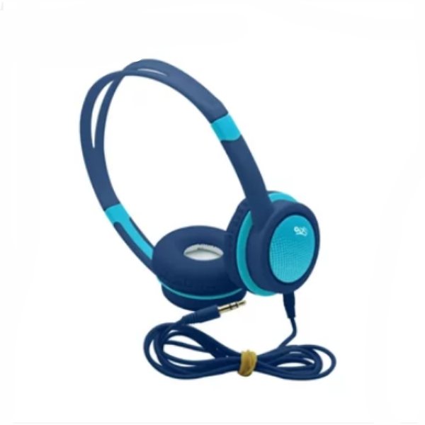 Headphone Kids I2go 1,2m Azul Com Limitador De Volume - I2go Basic