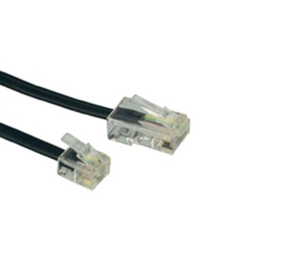 Headset Office Rj11 Preto 0069 Bright