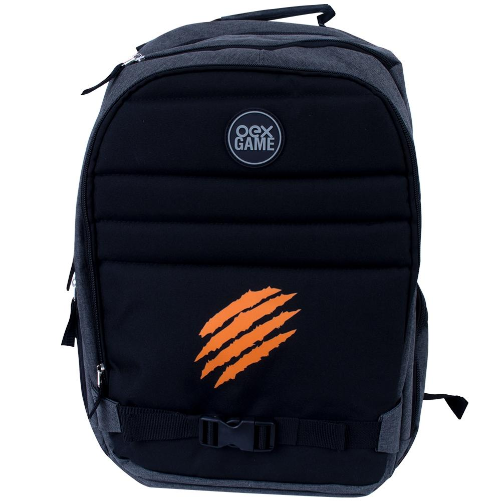 Mochila Oex Backpack Iron P/notebook Preto